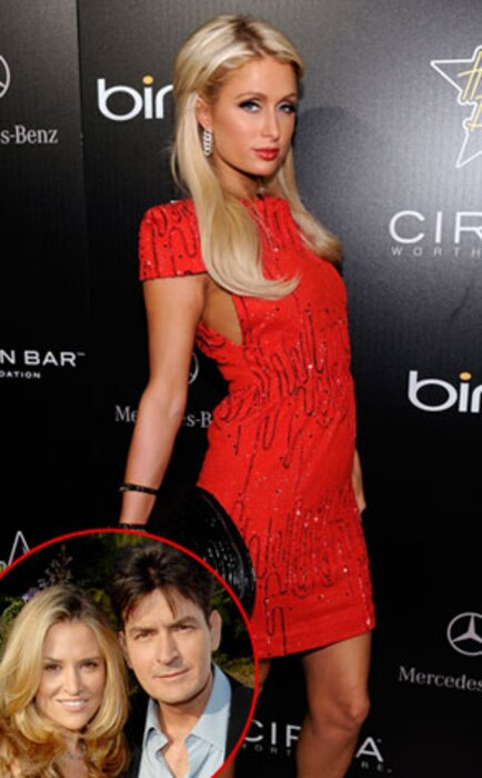 Paris Hilton, Brooke Mueller, Charlie Sheen