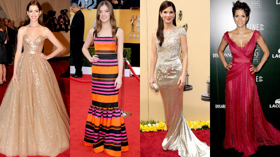 Anne Hathaway, Hailee Steinfeld, Sandra Bullock, Halle Berry