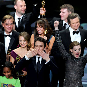 James Franco, Anne Hathaway