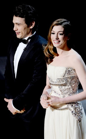 James Franco, Anne Hathaway