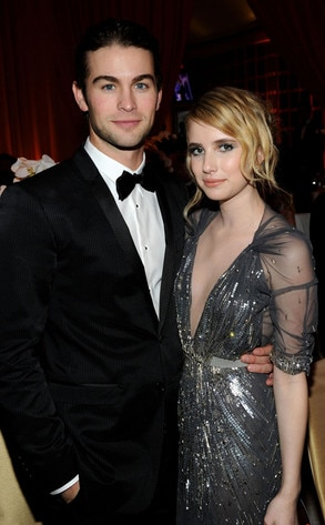 Chace Crawford, Emma Roberts