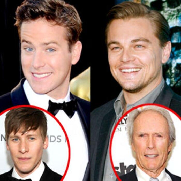 Armie Hammer, Leonardo DiCaprio, Dustin Lance Black, Clint Eastwood