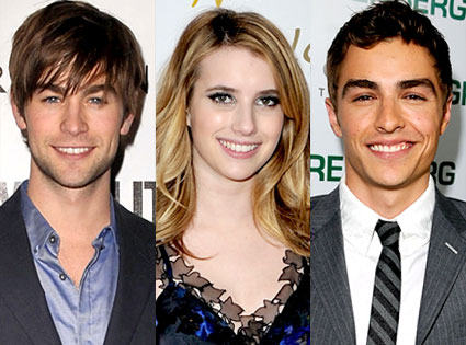 Chace Crawford, Emma Roberts, Dave Franco