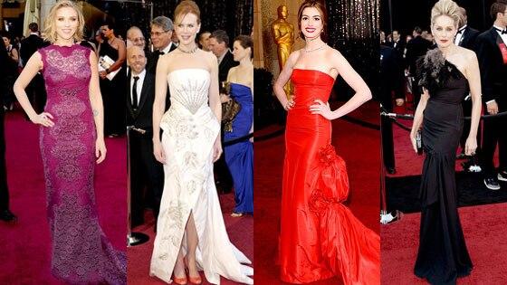 Scarlett Johansson, Nicole Kidman, Anne Hathaway, Sharon Stone