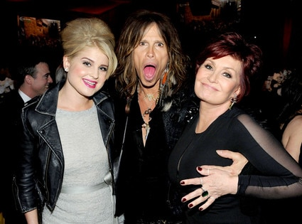 Kelly Osbourne, Steven Tyler, Sharon Osbourne