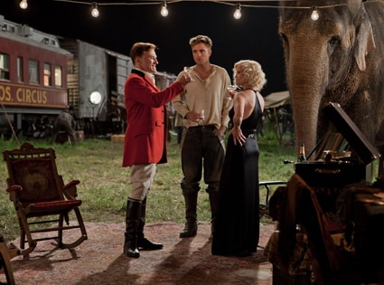 Water for Elephants, Christoph Waltz, Robert Pattinson, Reese Witherspoon