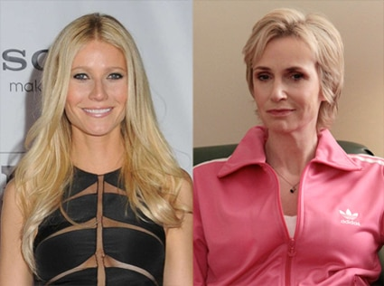 Gwyneth Paltrow, Glee, Jane Lynch