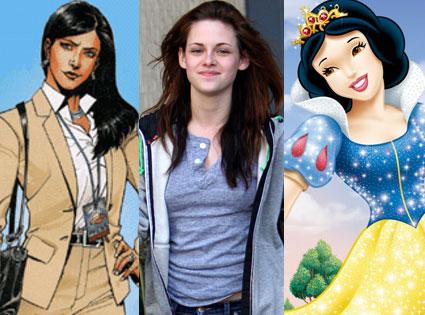 Kristen Stewart, Lois Lane, Snow White