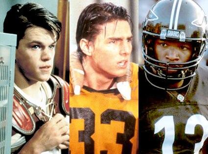 School Ties, Matt Damon, All the Right Moves, Tom Cruise, Any Given Sunday, Jamie Foxx