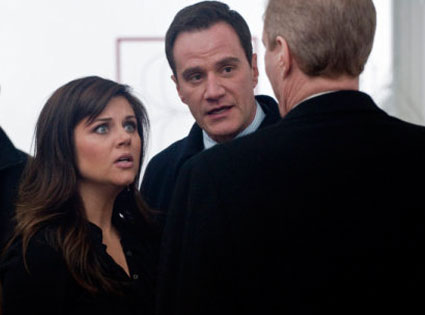 White Collar, Tim DeKay, Tiffani Thiessen
