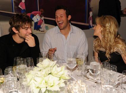Chace Crawford, Tony Romo, Candice Crawford