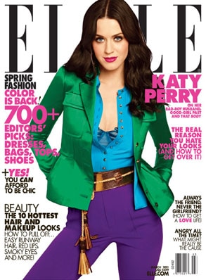 Katy Perry, Elle Cover