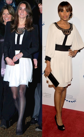 Kate Middleton, Kerry Washington