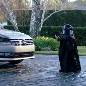 Darth Vadar Volkswagon Commercial