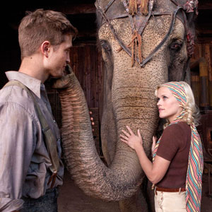 Water for Elephants, Robert Pattinson, Reese Witherspoon