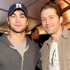 Chace Crawford, Matthew Morrison