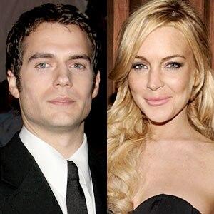 Henry Cavill, Lindsay Lohan