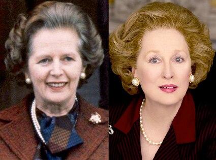 Margaret Thatcher, Meryl Streep, Iron Lady