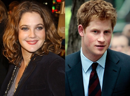 Drew Barrymore, Prince Harry
