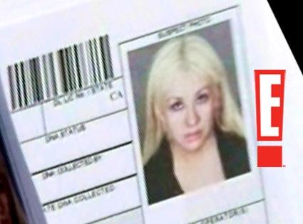 Christina Aguilera, Mugshot