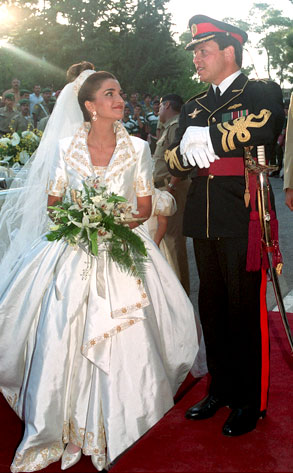 Prince Abdullah, Princess Rania Yassine, Jordan