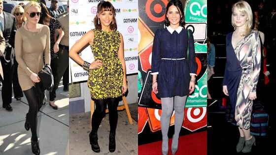 Lindsay Lohan, Rashida Jones, Olivia Munn, Emma Stone
