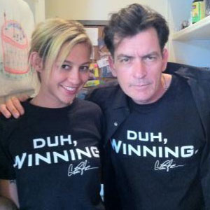 Charlie Sheen, Goddess