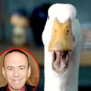 Aflac Duck, Gilbert Gottfried