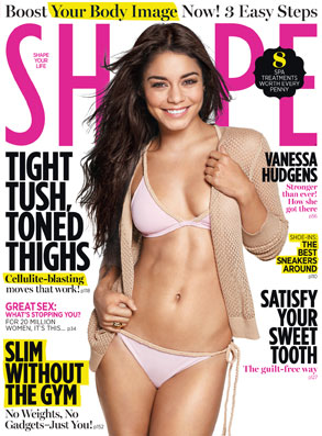 Vanessa Hudgens, Shape Cover