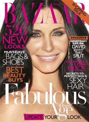 Courteney Cox, Harper's Bazaar Cover