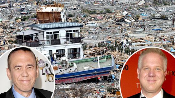 Japanese Disaster, Gilbert Gottfried, Glenn Beck