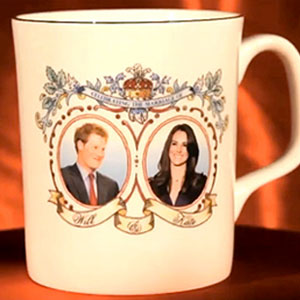 Kate Middleton, Prince Harry Mug