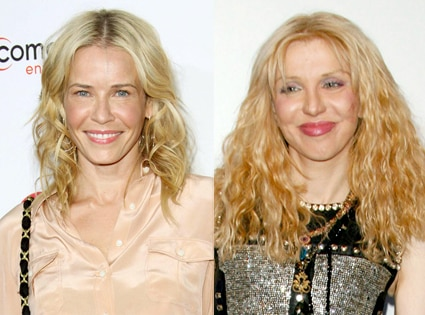 Chelsea Handler, Courtney Love