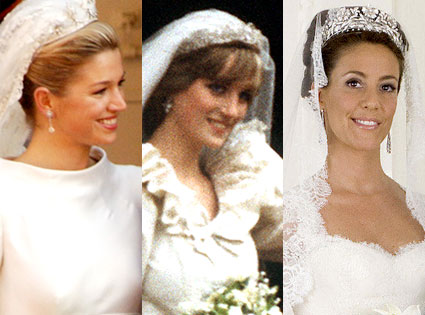 Princess Maxima, Netherlands, Princess Diana, Wales, Princess Marie, Denmark