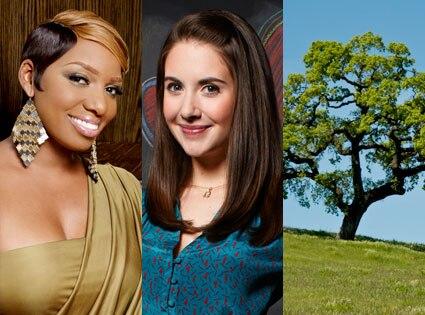 Nene Leakes, Alison Brie, Oak Tree