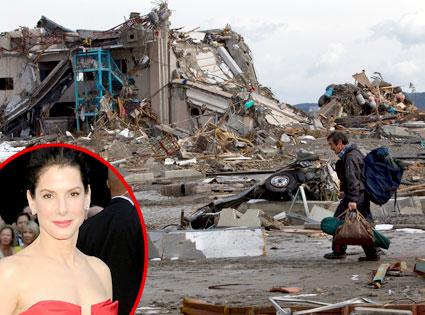Japan Tsunami, Sandra Bullock
