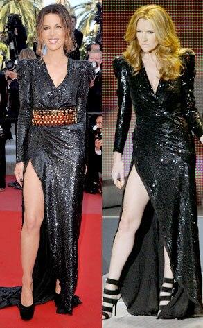 Kate Beckinsal, Celine Dion