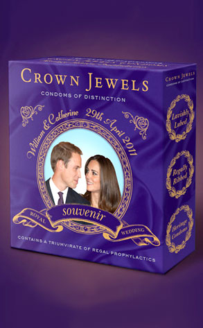 Kate Middleton, Prince William, Royal Wedding, Souvenir Condoms