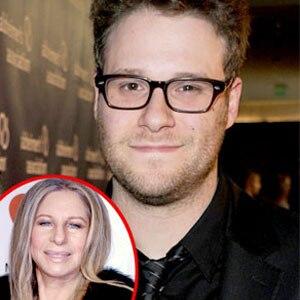 Seth Rogen, Barbra Streisand