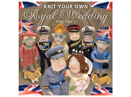 Kate Middleton, Prince William, Royal Wedding, Knit You Own Royal Wedding book