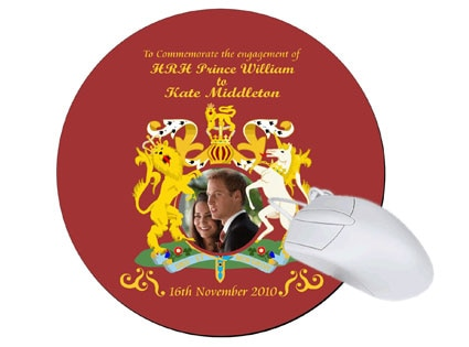 Kate Middleton, Prince William, Royal Wedding, Mouse pad