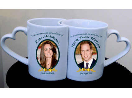 Kate Middleton, Prince William, Royal Wedding, Snuggly mugs