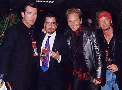 Charlie Sheen, Pierce Brosnan, Matt Sorum, Bret Michaels