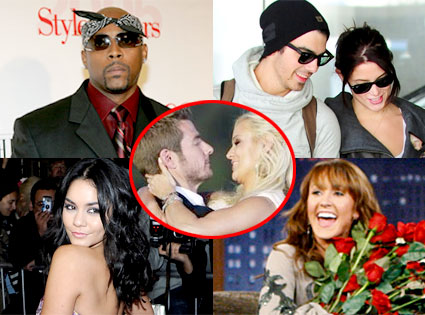 Nate Dogg, Joe Jonas, Ashley Greene, Vanessa Hudgens, Ashley Hebert, Brad Womack, Emily Maynard
