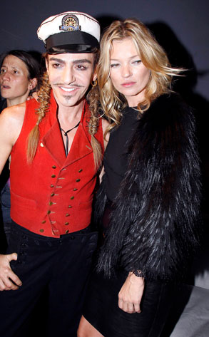 John Galliano, Kate Moss