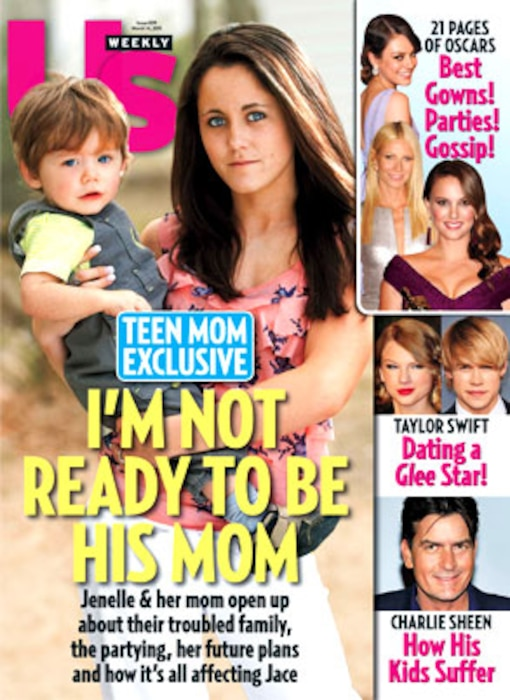 Jenelle Evans, Us Weekly Cover