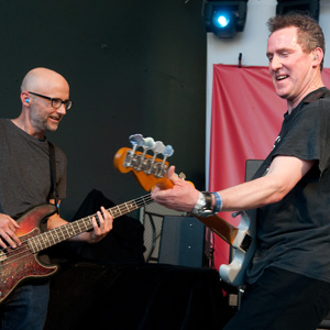 Moby and Andy McCluskey, Orchestral Manoeuvres in the Dark, OMD