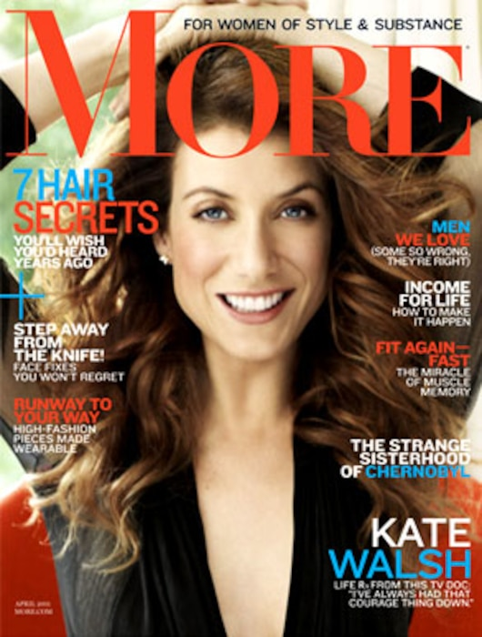 Kate Walsh, More Magazine Cover