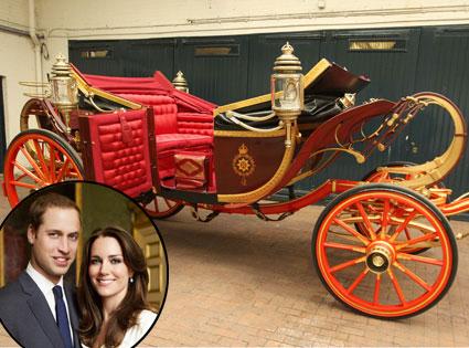 Carriage, Prince William, Kate Middleton
