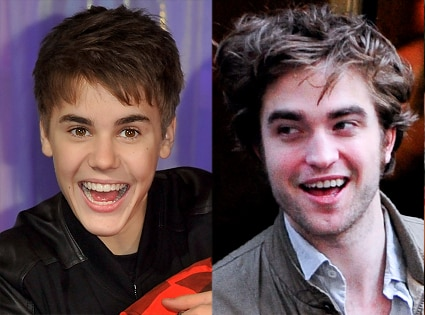 Justin Bieber, Robert Pattinson